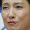 民進党の蓮舫氏、代表辞任で記者から「女性初の首相を目指さないのか?」と問われると